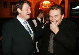 Karel Gott a Ladislav Štaidl v roce 2005