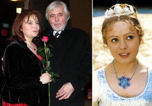 The happiness of Libuška Šafránková with Josef Abrhám was redeemed by the pain of Nadi Urbánková ...