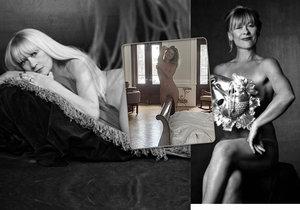 Slavné krásky 50+ nahé! Akty nafotily Pořízková (55), Batulková (62) nebo Macháčková (71)!