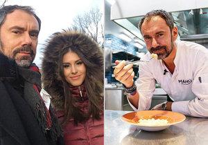El chef Emanuele Ridi está en el hospital con un covid.