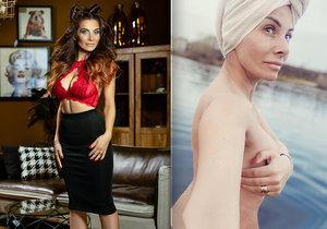 Eva Decastelo s'est baignée nue dans la Vltava.