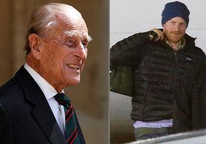 Le prince Harry s'est envolé pour le Royaume-Uni pour les funérailles de Philip.