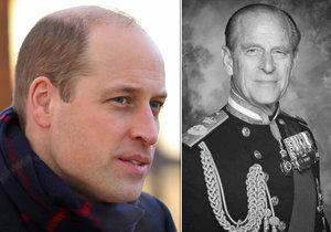 První slova Williama po smrti dědy Philipa (†99): S Kate budeme plnit jeho přání!