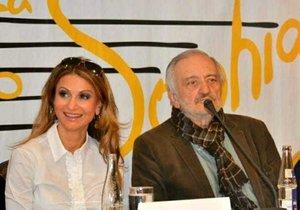 Yvetta Blanarovičová a Milan Lasica