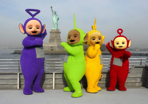 Teletubbies v New Yorku