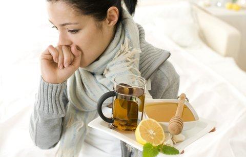 15 domácích receptů na chřipku a nachlazení