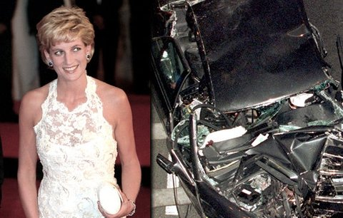 Nová fakta: Auto, ve kterém zemřela Diana, byl opravovaný vrak! Vůbec nemělo vjet na silnici!