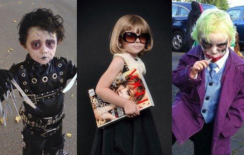 Nejbizarnější dětské kostýmy na Halloween: To musíte vidět!