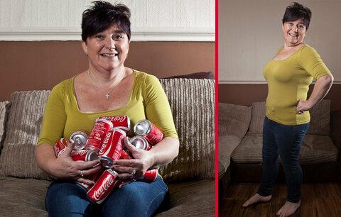 Zhubla 30 kilo za 3 měsíce: Ženě závislé na cole pomohl poslech CD