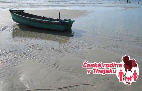 Česká rodina v Thajsku: Výlet lodí na ostrovy část 1.