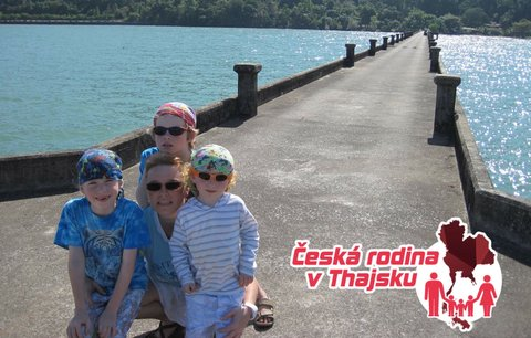 Česká rodina v Thajsku: Soňa se zřítila ze schodů!