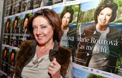MARIE ROTTROVÁ (72): Řekla bych, že stárnutí přijímám