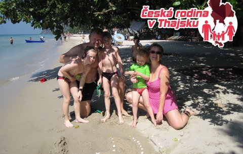 Česká rodina v Thajsku: Dům v Siam Royal View Resort
