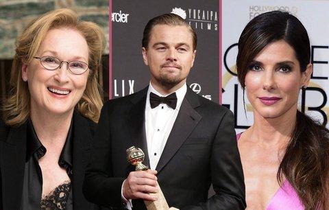Alkoholička Meryl Streep: Sáhne si zase na Oscara? A kdo další?