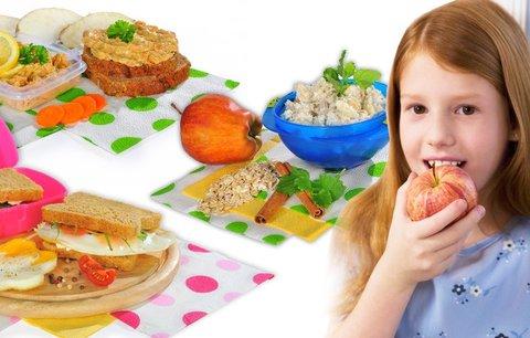 3 tipy na extra rychlé a báječné svačiny pro děti