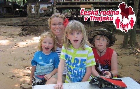 Česká rodina v Thajsku: Jak jsem nepochopil hladové děti