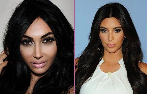 Půl miliónu za plastiky! Šílená žena se mění v Kim Kardashian