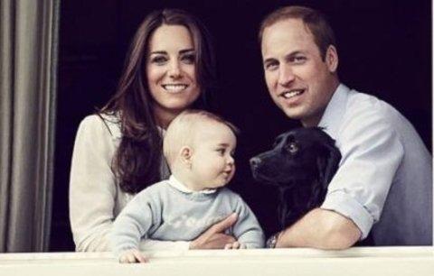 Vánoce Kate a Williama: Tradiční oběd a blbosti pod stromečkem