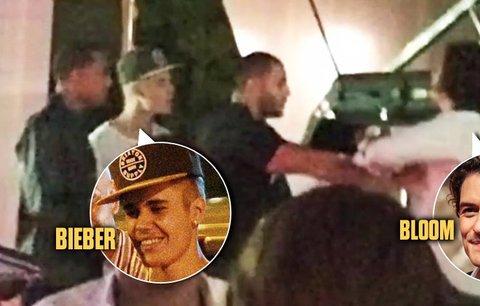 Orlando Bloom dal pěstí Biebrovi! DiCaprio ho povzbuzoval!