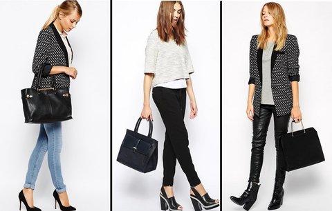 Nesmrtelná klasika: Top 20 nejlepších kožených i koženkových černých kabelek!
