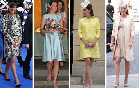 Nejkrásnější těhotenské outfity Kate Middleton: Bude je opět nosit?