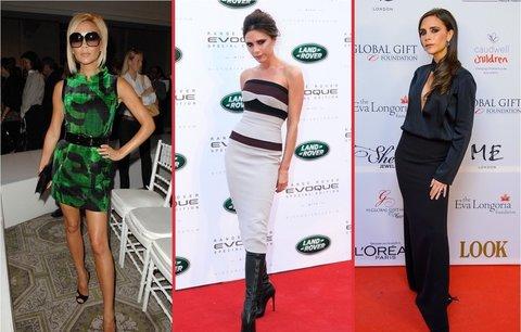 Victoria Beckham: Z vyhublé zpěvačky podnikatelkou roku!