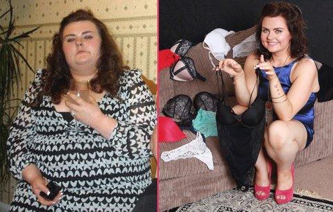 Zhubla 95 kilo za 15 měsíců! Přítel jí řekl, že je tlustá na sex