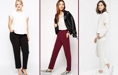 Ideální kalhoty pro vaši postavu: Pro dlouhánky, boubelky i drobné ženy!