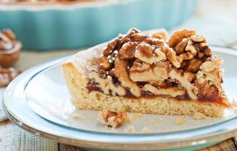 Sladké potěšení: Linecký koláč s ořechy