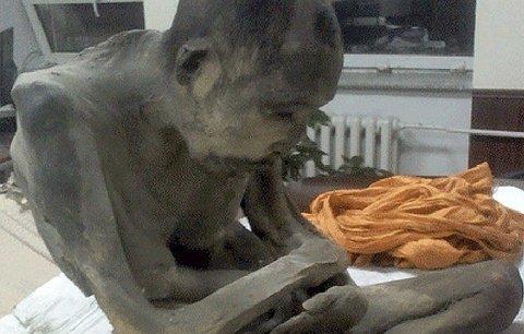 Našli mumii budhistického mnicha: I po200letech medituje