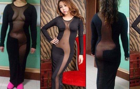 Šaty jako z hororu: Nakupování v podezřelých čínských obchodech se jen tak nevyplácí!