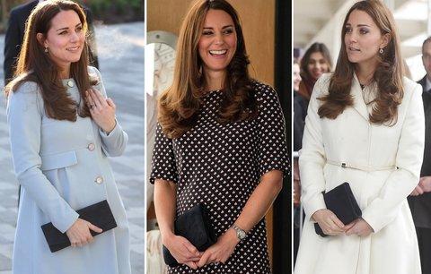 Kate Middleton nosí černé psaníčko: Pořiďte si taky takové!
