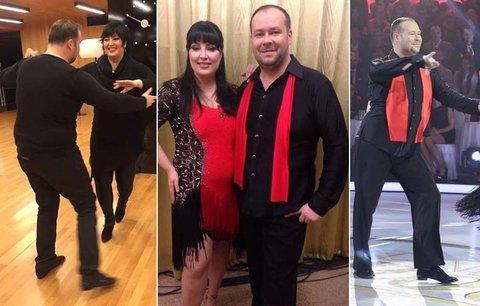 Těžká váha Ivana Christová v taneční soutěži! Zhubne?