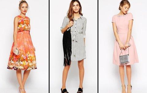 a5eddb1c4ba Nejkrásnější šaty z aktuálních kolekcí  Košilové a zavinovací musíte mít!
