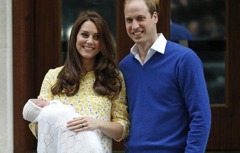 Kate porodí každou chvíli: Jak se bude třetí miminko jmenovat?