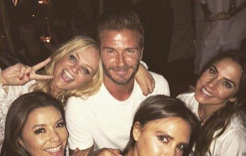 Beckham slavil 40: Mejdan za 9milionů a (skoro) kompletní Spice Girls