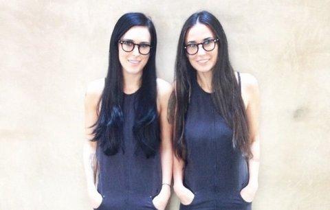 Matka s dcerou jako sestry! Demi Moore a Rumer Willis dělí 26 let, ale vidět to není
