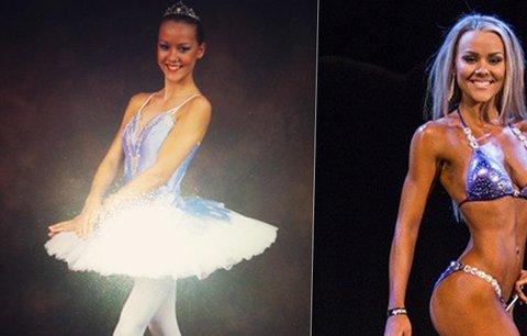 Z křehké baletky kulturistkou: Chelsea Dyson se změnila k nepoznání