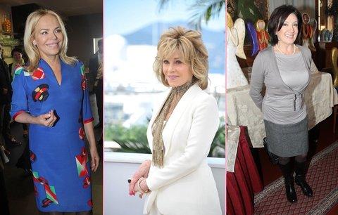 7 slavných žen, které umějí stárnout! Jane Fonda, Marie Rottrová a další