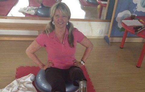 Andrea (44) si myslela, že má chřipku, ale kvůli meningokoku přišla o obě nohy!