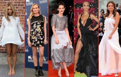 Nej outfity uplynulého týdne: Rita Ora vsadila na nahotu, Beyoncé na zjev anděla