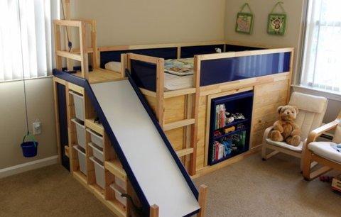 Po téhle posteli zatouží každé dítě! Šikovný otec upravil IKEA k dokonalosti!