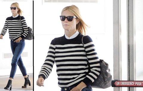 Styl podle celebrit: Gwyneth Paltrow je sexy i ve svetru!