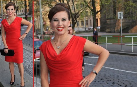 Styl podle celebrit: Milovnice šatů Dana Morávková
