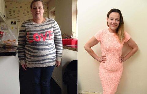 Angličanka zhubla o padesát kilogramů: Vynechala sladkou limonádu!