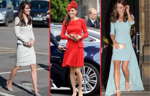 Vévodkyně Kate a její nejkrásnější modely! Který se vám líbí nejvíc?