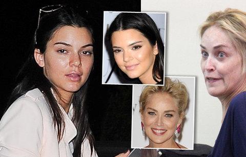 Hollywood bez make-upu: Jak se na slavných tvářích vyřádila příroda? Jsou k nepoznání
