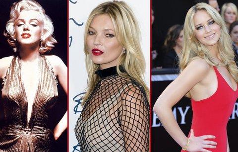 Nejsvůdnější slavné blondýny: Od Marilyn Monroe po Jennifer Lawrence!