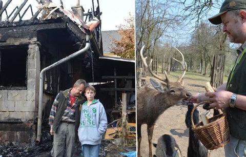 Michal pomáhal ostatním, teď potřebuje pomoc sám: Místo domova má spáleniště
