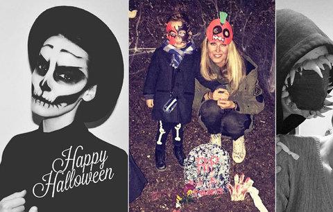 České celebrity o Halloweenu: Krainová ho strávila na hřbitově a Kratochvílová jako kostlivec